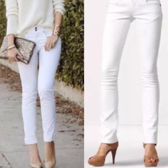 CAbi Denim - Cabi White Straight Leg Jeans #879